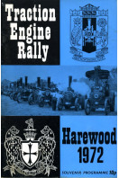 9th Traction Engine Rally : Harewood 1972 : Souvenir Programme