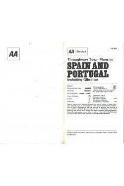 Throughway Town Plans in Spain and Portugal