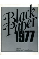 Black Paper, 1977 (Signed By Author)
