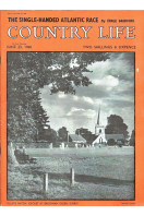 Country Life Magazine 1960 Jun 23