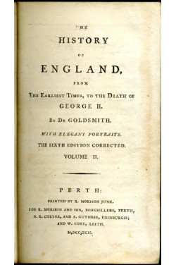 The History of England from the Earliest Times to the Death of George II : Volume II