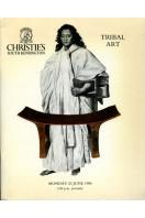 Christie's Tribal Art Sale : 23 June 1986