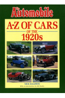 A-Z of Cars of the 1920s