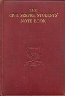Civil Service Students' Note Book
