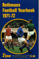 Rothmans Football Yearbook 1971-72, 2nd Year