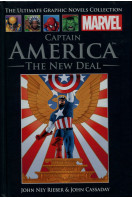 Captain America : The New Deal (Marvel Ultimate Graphic Novels Collection)