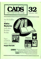 CADS : Crime and Detective Stories : Vol 32 February 1998