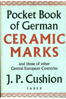 Pocket Book of German Ceramic Marks and those of other Central European Countries