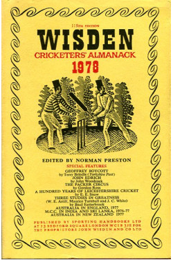 Wisden Cricketers' Almanack 1978