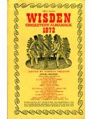 Wisden Cricketers' Almanack 1972