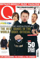 Q Music Magazine : December 2002 : Radiohead Front Cover (Includes CD)