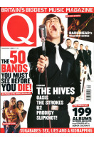 Q Music Magazine : September 2002 : The Hives Front Cover