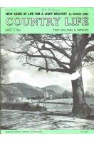 Country Life Magazine 1964 April 4