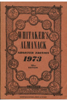 Whitaker's Almanack Shorter Edition 1973