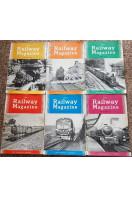 Railway Magazine 1961 (6 issues)