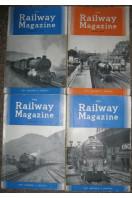 Railway Magazine 1954, 1955, 1957 (4 issues)