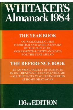 Whitaker's Almanac 1984