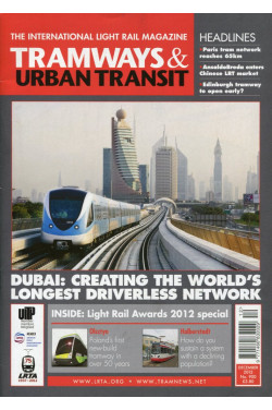 Tramways & Urban Transit - The International Light Rail Magazine  No 900 December 2012