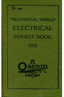 'Mechanical World' Electrical Pocket Book 1921