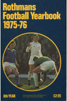 Rothmans Football Yearbook 1975-76, 6th Year