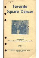 Favorite Square Dances : KIT 53