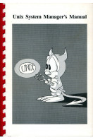 UNIX System Manager's Manual