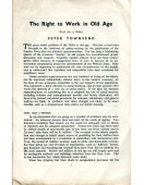 The Right to Work in Old Age
