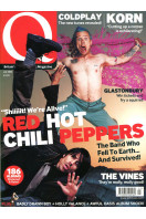 Q Music Magazine : July 2002 : Red Hot Chili Peppers Front Cover