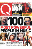 Q Music Magazine : August 2004 : Most Powerful People in Music Front Cover