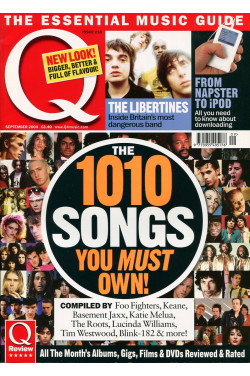 Q Music Magazine : September 2004 :