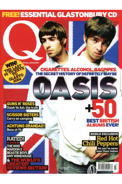 Q Music Magazine : July 2004 : Oasis on Front Cover