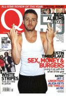 Q Music Magazine : January 2004  : Justin Timberlake Front Cover