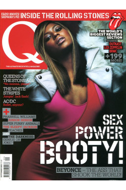 Q Music Magazine : September 2003  : Beyonce Front Cover