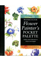 Watercolour Flower Painter's Pocket Palette: Instant visual reference on colours and Shapes