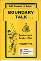 Boundary Talk : Scarborough Cricket Club