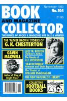 Book and Magazine Collector : No 104 November 1992