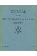 Journal of the English Folk Dance & Song Society : Vol VIII No 2 -1957