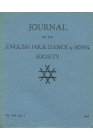 Journal of the English Folk Dance & Song Society : Vol VIII No 1 -1956