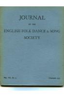 Journal of the English Folk Dance & Song Society : Vol VII No 4 - Dec 1955