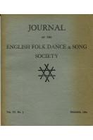 Journal of the English Folk Dance & Song Society : Vol IX No 5 - Dec 1964