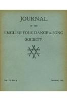 Journal of the English Folk Dance & Song Society : Vol IX No 4 - Dec 1963