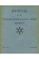 Journal of the English Folk Dance & Song Society : Vol IX No 3 - Dec 1962