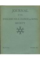 Journal of the English Folk Dance & Song Society : Vol IX No 1 - Dec 1960