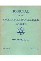 Journal of the English Folk Dance & Song Society : Vol VIII No 4 - Dec 1959
