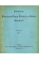 Journal of the English Folk Dance and Song Society Volume I No 2  : December 1933