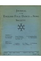 Journal of the English Folk Dance & Song Society : Vol V No 2 - Dec 1947