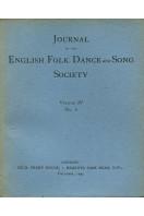 Journal of the English Folk Dance & Song Society : Vol IV No 6 - Dec 1945