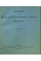 Journal of the English Folk Dance & Song Society : Vol IV No 5 - Dec 1944