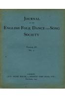 Journal of the English Folk Dance & Song Society : Vol IV No 4 - Dec 1943