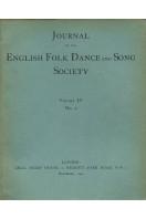 Journal of the English Folk Dance & Song Society : Vol IV No 2 - Dec 1941